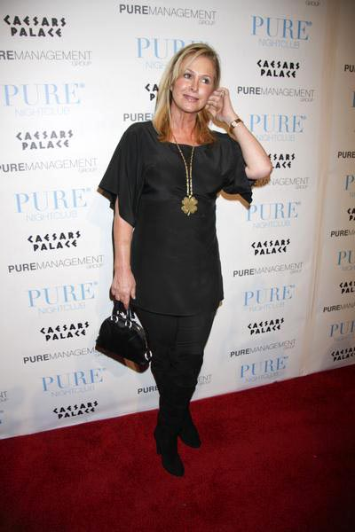 Kathy Hilton at Nicky Hilton's 25th Birthday Celebration at Pure Nightclub at Caesars Palace Hotel and Casino, Las Vegas, NV, USA