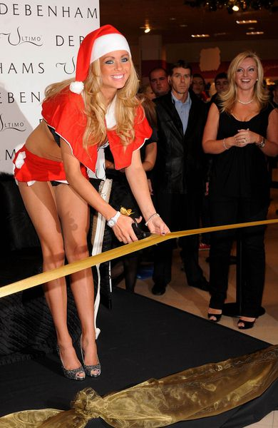 Nicola McLean at Nicola McLean Launches the Ultimo Underwear Fashion Department at Debenhams Store in Romford, Essex, UK