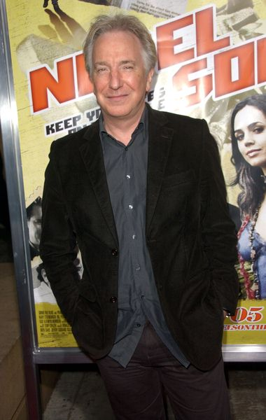 Alan Rickman at 'Noble Son' Los Angeles Premiere at The Egyptian Theater, Hollywood, CA, USA