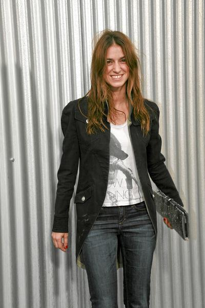 Johanna Preiss at Paris Fashion Week - Spring/Summer '09 - Chanel Celebrity - Arrivals - Grand Palais, Paris, France