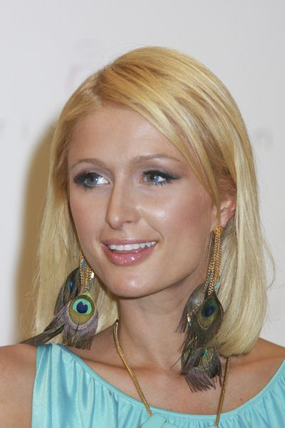 Paris Hilton at Paris Hilton Debuts Her Fall Shoe Collection at Macys Fashion Show Mall in Las Vegas, NV, USA