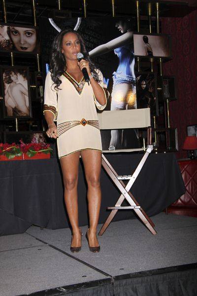 Melanie Brown at 'Peepshow' at Strip House at Planet Hollywood Las Vegas - Press Conference - Strip House at Planet Hollywood Hotel and Casino, Las Vegas, NV, USA
