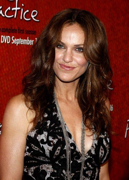 Amy Brenneman at 'Private Practice' Season One DVD Launch at Tropicana Bar, The Roosevelt Hotel, Hollywood, CA, USA