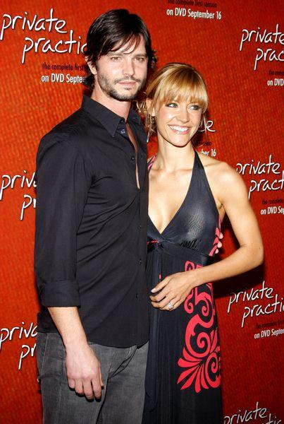 Jason Behr, KaDee Strickland at 'Private Practice' Season One DVD Launch at Tropicana Bar, The Roosevelt Hotel, Hollywood, CA, USA