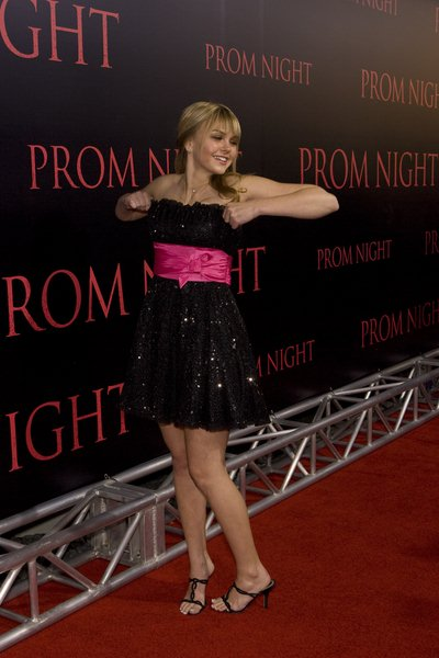 Aimee Teegarden at 'Prom Night' World Premiere - Arrivals: The ArcLight Cinemas, Hollywood, CA, United States.