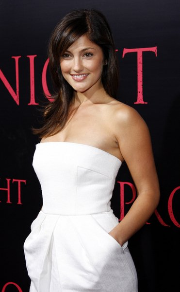 Minka Kelly at 'Prom Night' World Premiere - Arrivals: The ArcLight Cinemas, Hollywood, CA, United States.