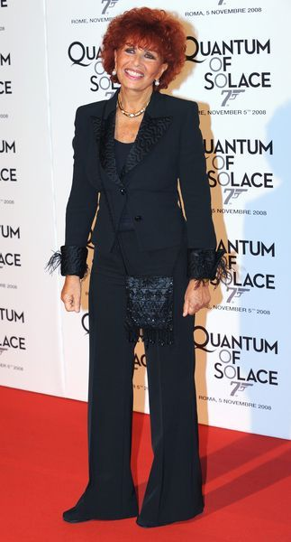Maria Scicolone at 'Quantum of Solace' Rome Premiere at Warner Cinema, Piazza della Repubblica, Rome, Italy