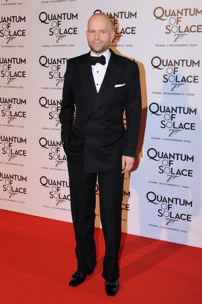 Michael Forster at 'Quantum of Solace' Rome Premiere at Warner Cinema, Piazza della Repubblica, Rome, Italy