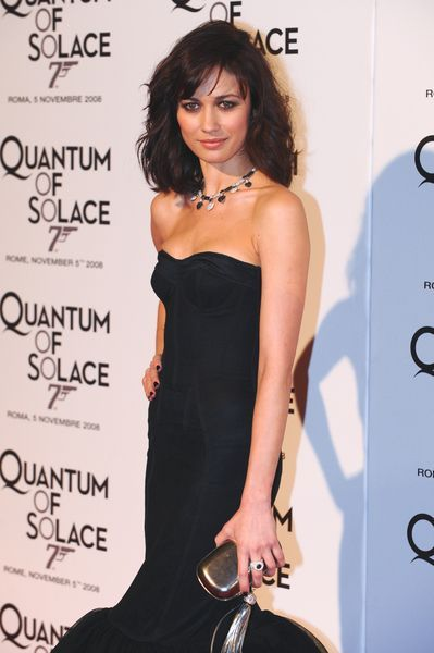 Olga Kurylenko at 'Quantum of Solace' Rome Premiere at Warner Cinema, Piazza della Repubblica, Rome, Italy