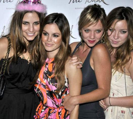 Rachel Bilson at Rachel Bilson Hosts a Bachlorette Party at the Bank Nightclub at the Bellagio Hotel, Las Vegas, NV, USA