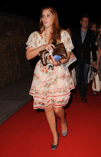 Princess Beatrice at RD Crusaders in Concert to Benefit the Marie Curie Cancer Hospital at Old Billingsgate Fish Market on May 8, 2008, London, England