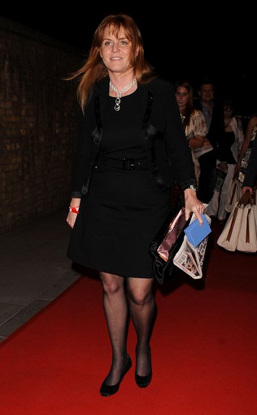 Sarah Ferguson at RD Crusaders in Concert to Benefit the Marie Curie Cancer Hospital at Old Billingsgate Fish Market on May 8, 2008, London, England