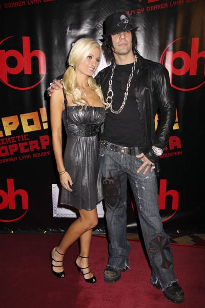 Holly Madison, Criss Angel at 'Repo! The Genetic Opera' Las Vegas Premiere at The Mezz Showroom at Planet Hollywood Hotel and Casino, Las Vegas, NV, USA