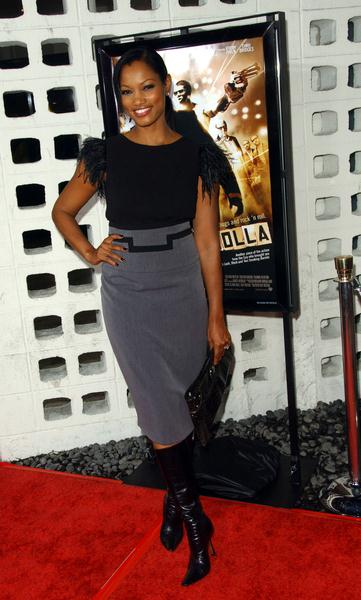 Garcelle Beauvais at 'RocknRolla' Los Angeles Premiere - Arrivals - Cinerama Dome, Hollywood, CA. USA