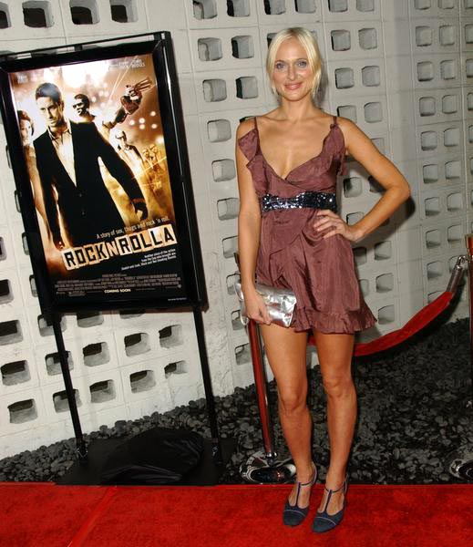 Dominika Wolski at 'RocknRolla' Los Angeles Premiere - Arrivals - Cinerama Dome, Hollywood, CA. USA