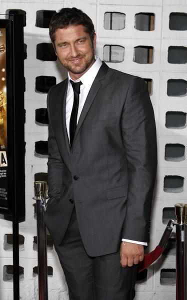 Gerard Butler at 'RocknRolla' Los Angeles Premiere - Arrivals - Cinerama Dome, Hollywood, CA. USA