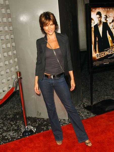 Lisa Rinna at 'RocknRolla' Los Angeles Premiere - Arrivals - Cinerama Dome, Hollywood, CA. USA
