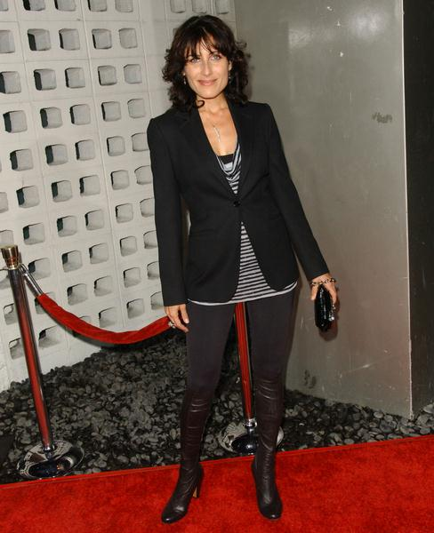 Lisa Edelstein at 'RocknRolla' Los Angeles Premiere - Arrivals - Cinerama Dome, Hollywood, CA. USA