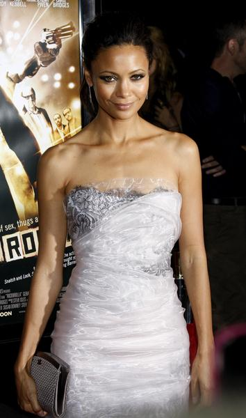 Thandie Newton at 'RocknRolla' Los Angeles Premiere - Arrivals - Cinerama Dome, Hollywood, CA. USA