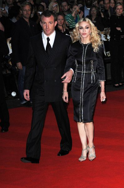 Guy Ritchie, Madonna at 'RocknRolla' - UK Premiere in Odeon West End, London, UK