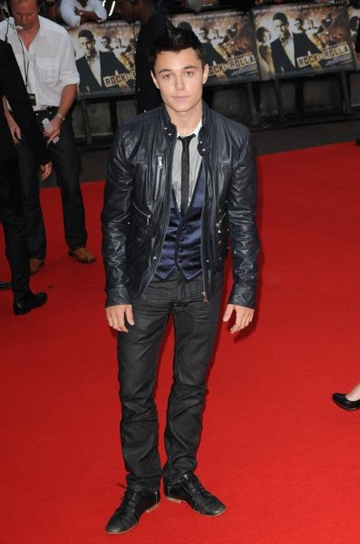 Leon Jackson at 'RocknRolla' - UK Premiere in Odeon West End, London, UK