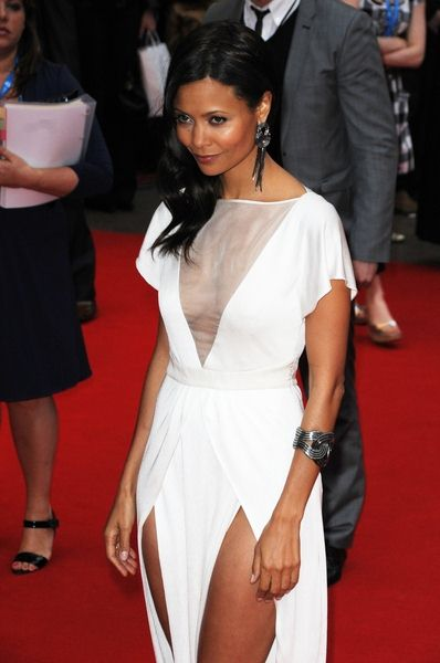 Thandie Newton at 'RocknRolla' - UK Premiere in Odeon West End, London, UK