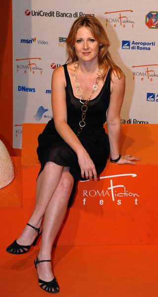 Lisa Galantini at Roma Fiction Fest 2008 - Day 1 - Auditorium Della Conciliazione, Rome, Italy
