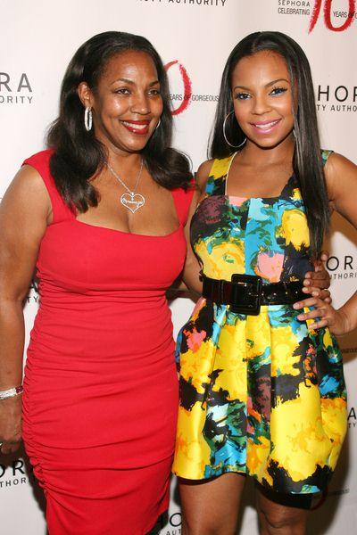 Ashanti, Her Mother at Sephora 10th Anniversary Party Celebrating 'Ten Years of Gorgeous' - Arrivals at Angel Orensanz Foundation, 172 Norfolk Street, New York City, NY, USA