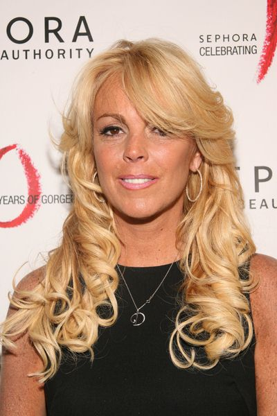 Dina Lohan at Sephora 10th Anniversary Party Celebrating 'Ten Years of Gorgeous' - Arrivals at Angel Orensanz Foundation, 172 Norfolk Street, New York City, NY, USA