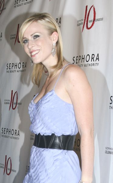 Natasha Bedingfield at Sephora 10th Anniversary Party Celebrating 'Ten Years of Gorgeous' - Arrivals at Angel Orensanz Foundation, 172 Norfolk Street, New York City, NY, USA