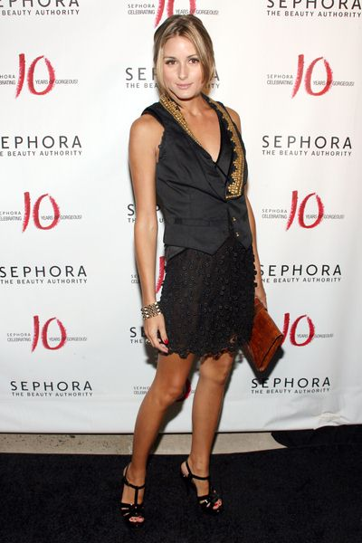 Olivia Palermo at Sephora 10th Anniversary Party Celebrating 'Ten Years of Gorgeous' - Arrivals at Angel Orensanz Foundation, 172 Norfolk Street, New York City, NY, USA