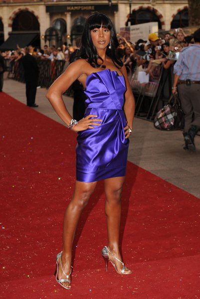 Kelly Rowland at 'Sex and the City: The Movie' London Premiere - Arrivals at Leicester Square, London, England