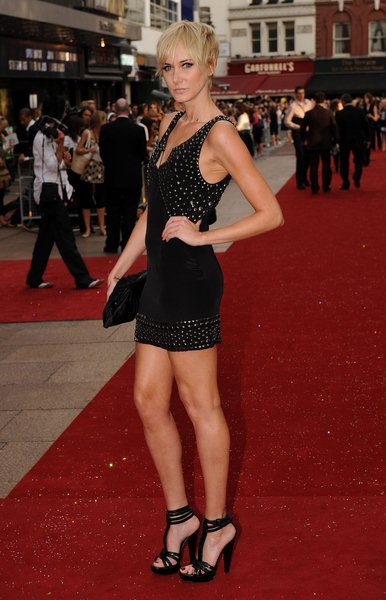 Kimberly Stewart at 'Sex and the City: The Movie' London Premiere - Arrivals at Leicester Square, London, England