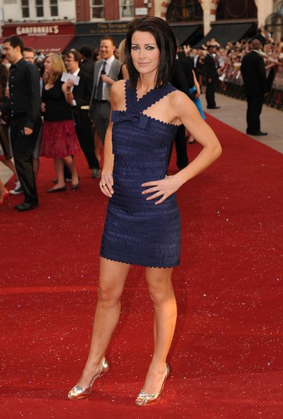 Kirsty Gallacher at 'Sex and the City: The Movie' London Premiere - Arrivals at Leicester Square, London, England