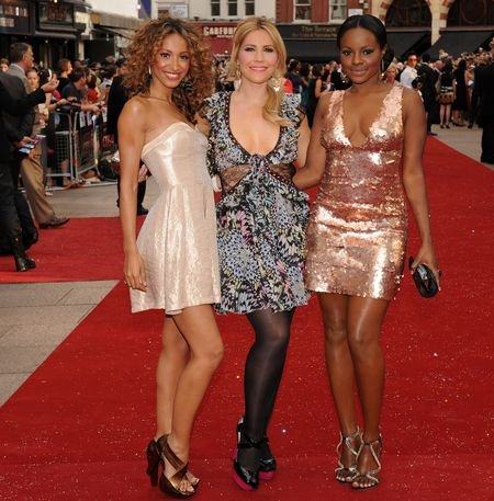 Sugababes at 'Sex and the City: The Movie' London Premiere - Arrivals at Leicester Square, London, England
