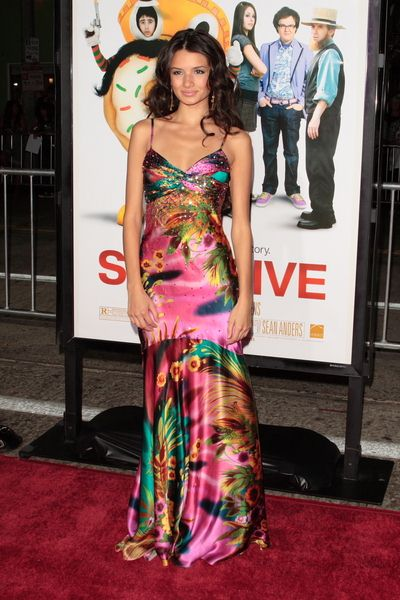 Alice Greczyn at 'Sex Drive' Los Angeles Premiere - Arrivals at Mann Village Theatre, Westwood, CA, USA
