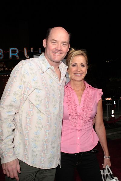 David Koechner, Leigh Koechner at 'Sex Drive' Los Angeles Premiere - Arrivals at Mann Village Theatre, Westwood, CA, USA