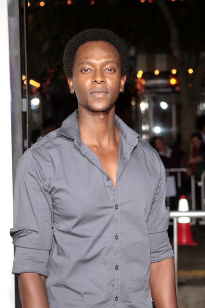 Edi Gathegi at 'Sex Drive' Los Angeles Premiere - Arrivals at Mann Village Theatre, Westwood, CA, USA