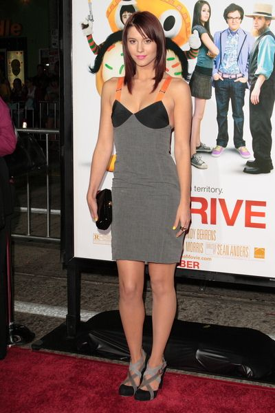 Mary Elizabeth Winstead at 'Sex Drive' Los Angeles Premiere - Arrivals at Mann Village Theatre, Westwood, CA, USA