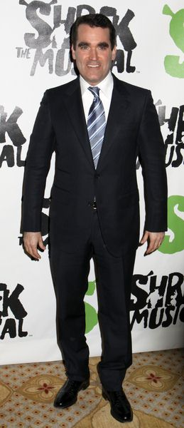 Brian D'Arcy James at 'Shrek The Musical' Broadway After Party at Plaza Hotel in New York City, NY, USA