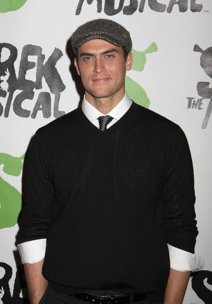 Cheyenne Jackson at 'Shrek The Musical' Broadway After Party at Plaza Hotel in New York City, NY, USA