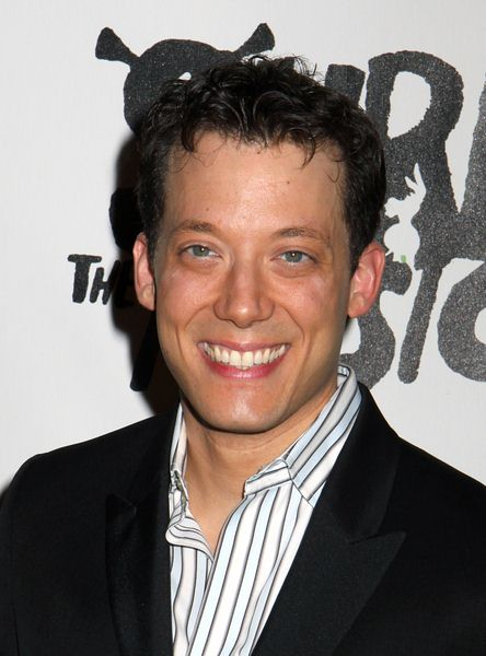John Tartaglia at 'Shrek The Musical' Broadway After Party at Plaza Hotel in New York City, NY, USA