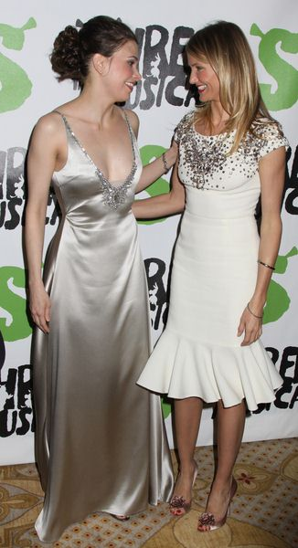 Sutton Foster Cameron Diaz at 'Shrek The Musical' Broadway After Party at Plaza Hotel in New York City, NY, USA