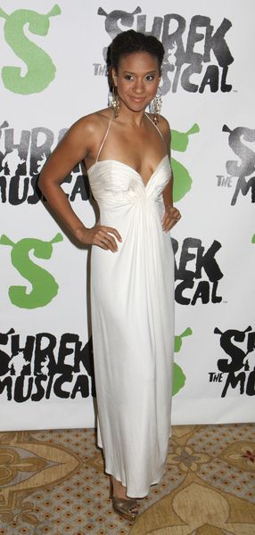 Tracie Thoms at 'Shrek The Musical' Broadway After Party at Plaza Hotel in New York City, NY, USA