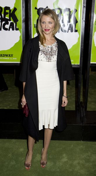 Cameron Diaz at 'Shrek The Musical' Broadway Opening Night at Broadway Theatre in New York City, NY, USA