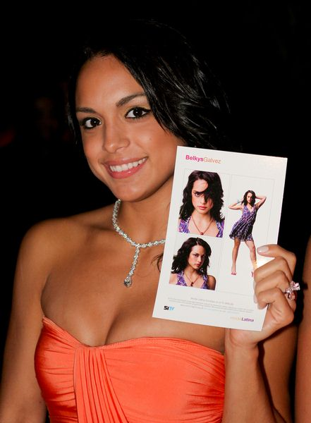 Belkys Galvez at SITV Model Latina's Premiere Kick Off Party at The Fifth, Miami Beach, Florida