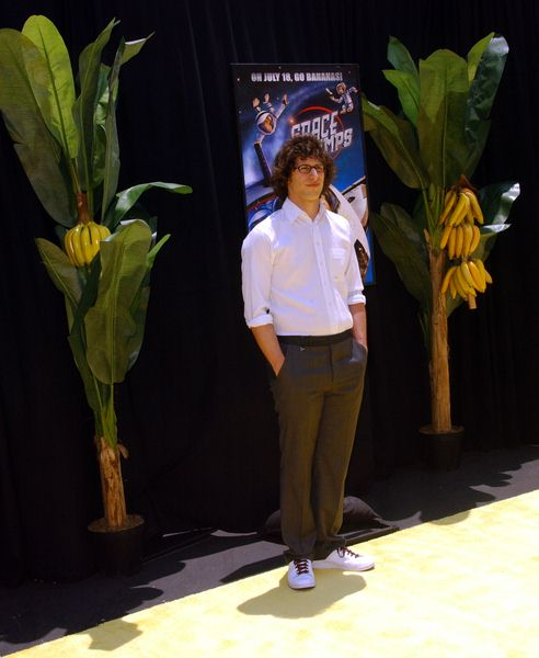 Andy Samberg at 'Space Chimps' Los Angeles Premiere - Fox Studios/ Zanuck Theater, Los Angeles, CA. USA