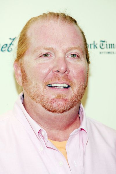 Mario Batali at 'Spain... on the Road Again' Television Series Launch at Queen Sofia Spanish Institute, New York City, NY, USA