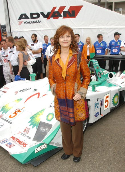 Susan Sarandon at The Cast of 'Speed Racer' Appear at the 2008 Toyota Grand Prix of Long Beach  - Advan/Yokohama Pit, Long Beach, CA. USA