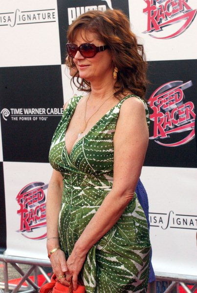 Susan Sarandon at 'Speed Racer' World Premiere - Arrivals - Nokia Theater, Los Angeles, CA. USA
